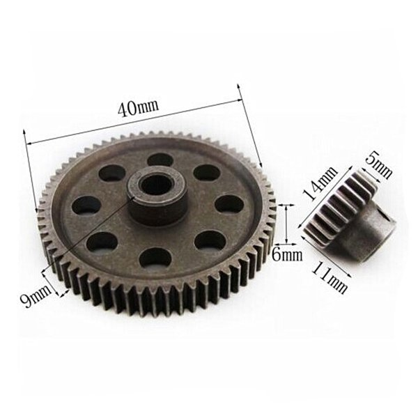 HSP Differential Main Gear 64T Motor Gear 21T 1/10 RC Car Parts