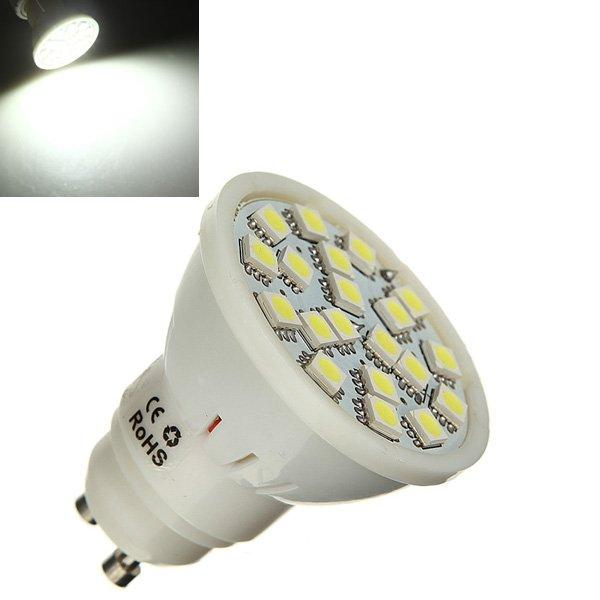 GU10 5W White 20 SMD 5050 LED Light Bulb Lamp AC 110-240V
