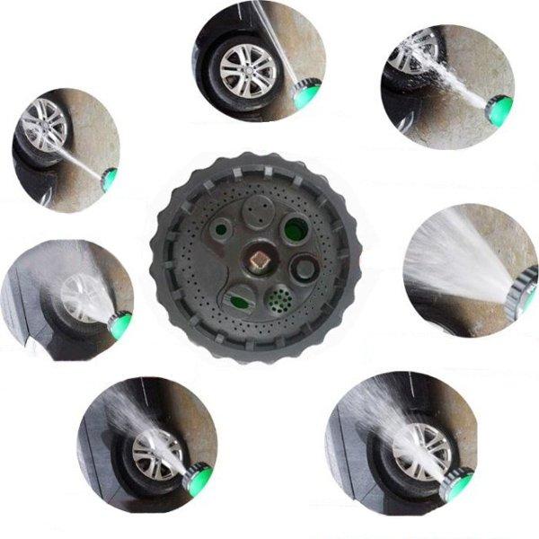 Adjustable Garden Car Water Nozzle Head Syringe Grip Sprayer