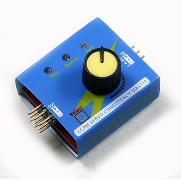 CCPM Servo Consistency Master Automatic Tester
