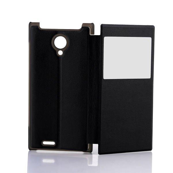 Original View Window Leather Case For DOOGEE DG550 DG550e