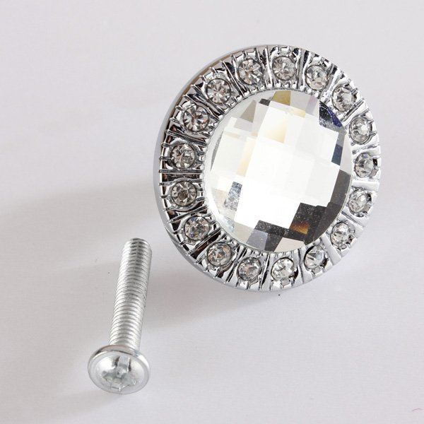 3cm Round Drawer Wardrobe Door Handle