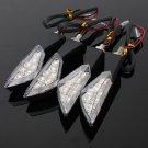 7 LED Amber Universal Motorcycle Turn Signal Light Lamp