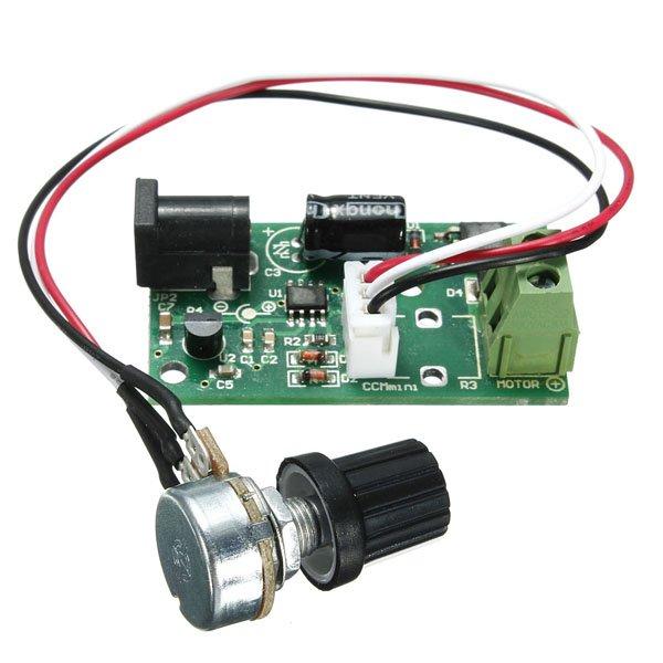 Adjustable Regulator Pulse Width PWM DC Motor Speed Controller Switch
