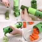 Multifunction Vegetable Fruit Cucumber Turning Cutter Slicer