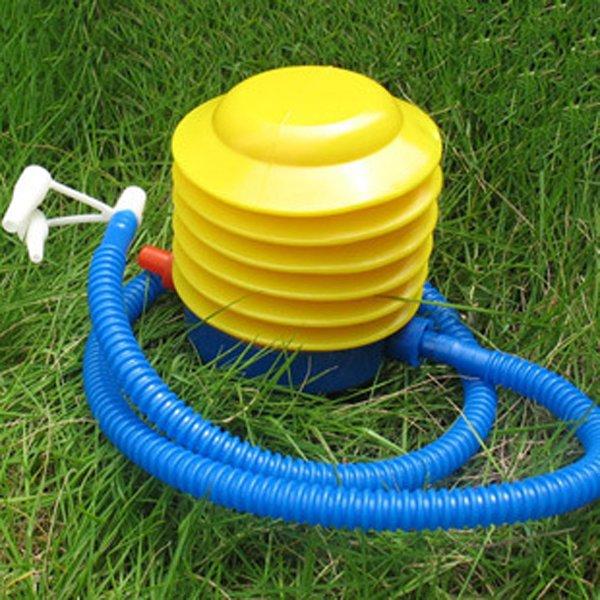 Inflatable Float Foot Pump Plastic Swim Ring Toys