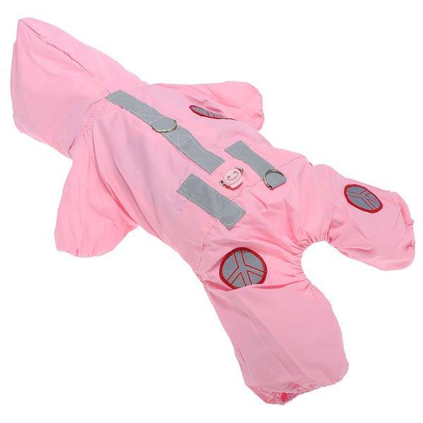 Dog Cat Hoodie Jumpsuit Rain Coat 2 Colors Waterproof