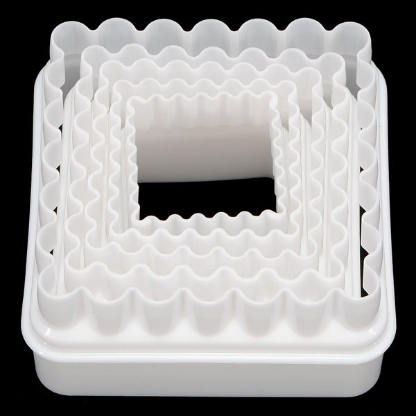 Square Cake Biscuit Cookie Fondant Cutter Mould Mold