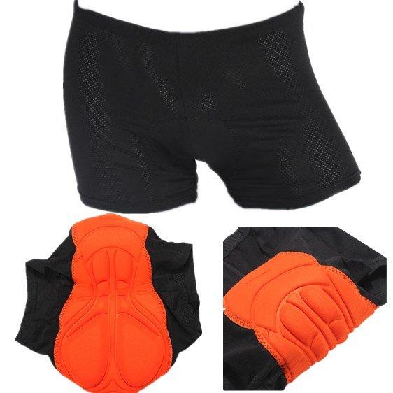 Sports Cycling Underwear Gel Padded Pants Riding Underwear