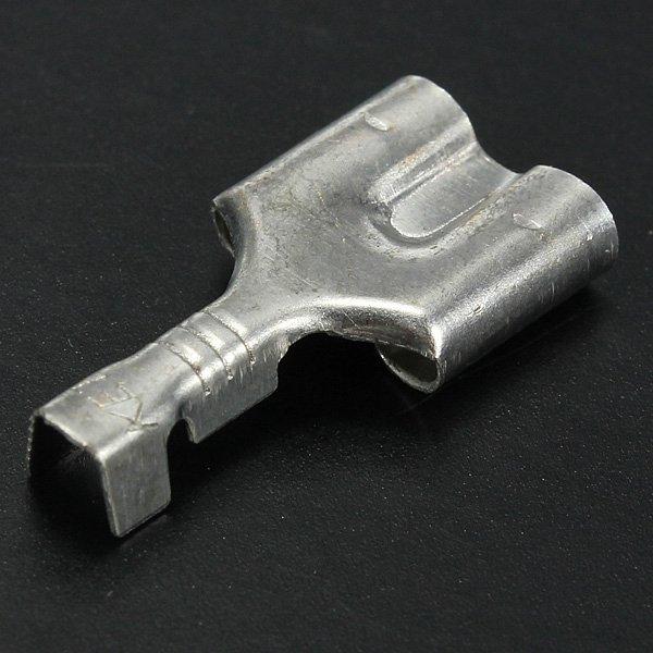 10X3.9mm Motorcycle Bullet Female Double Socket Connectors