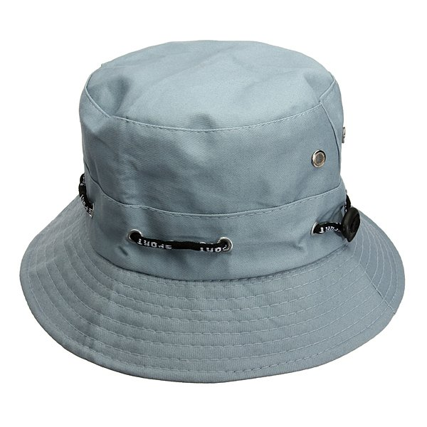 Unisex Sun Cotton Hat Summer Bucket Fishing Hiking Fedora Safari Cap