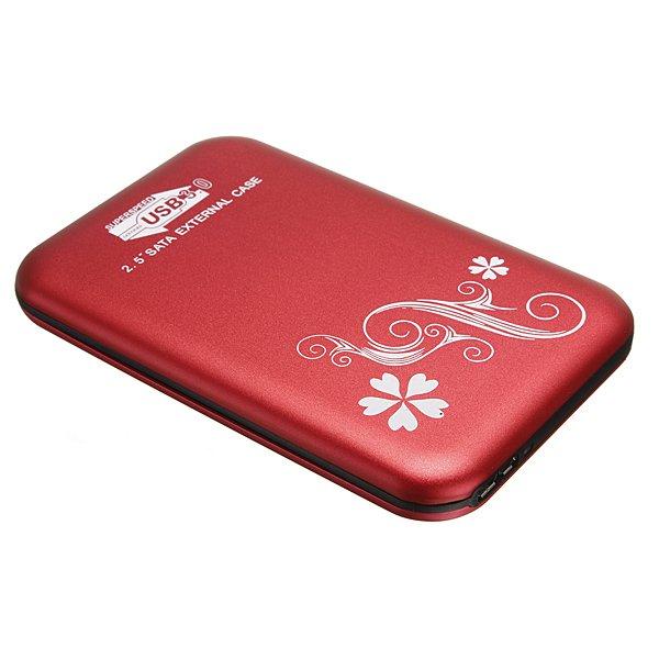 USB 3.0 2.5inch Enclosure Box Slim SATA HDD Hard Disk Case