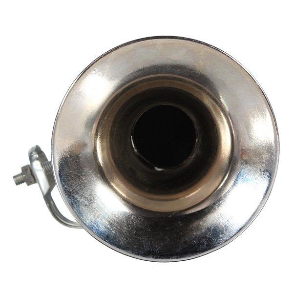 Vintage Chrome Loudspeaker Siren Hooter Horn Non-Electronic