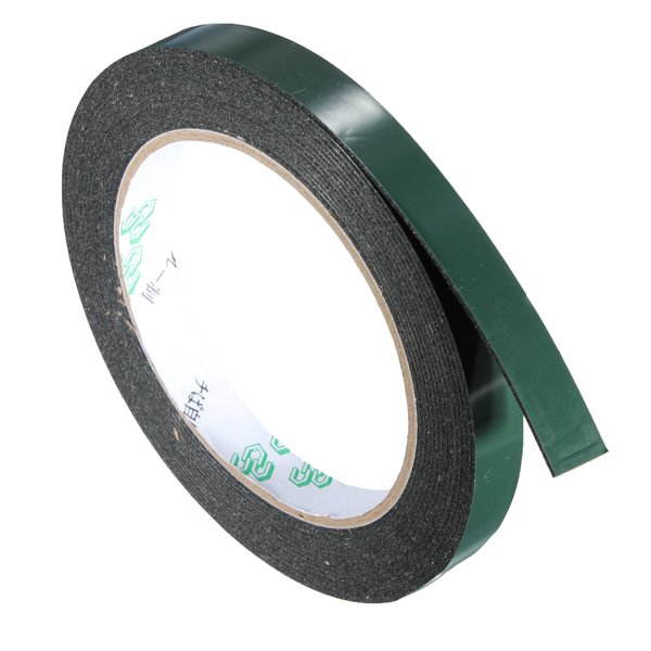 5m Strong Waterproof Adhesive Double Sided Foam Tape Car Trim Plate