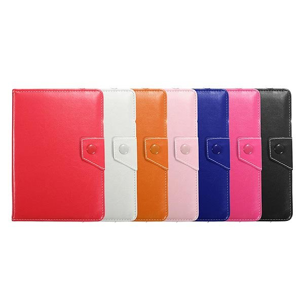 Universal Flip PU Leather Adjustable Stand Case For 6 7 Inch Tablet PC