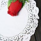 100Pcs 7.5 Inch Round Paper Lace Cake Dessert Doilies Placemat