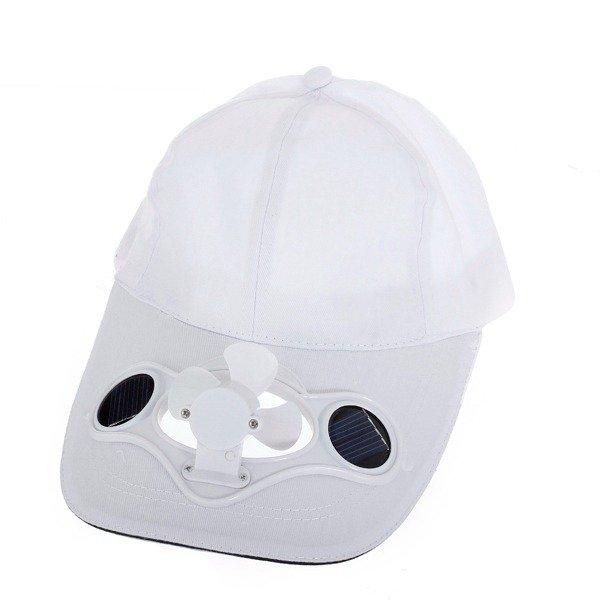 Summer Sport Outdoor Hat Cap with Solar Sun Power Cool Fan