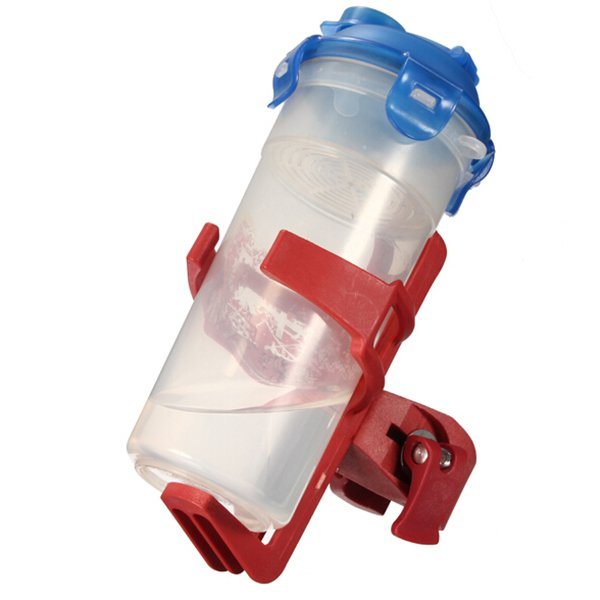Bike Water Bottle Holder Clip Rack Bicycle Pitcher Cage Adjustable