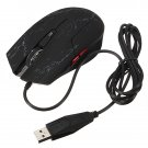 KN-002 LED USB Wired Optical 2400 DPI Adjustable Gaming Mouse