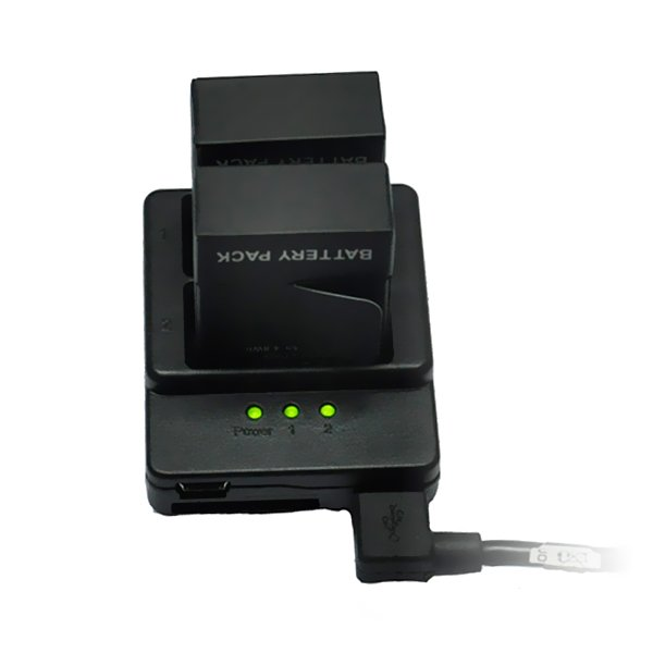 Dual 2 Battery USB Charger For Gopro 3/3+ AHDBT-201/301