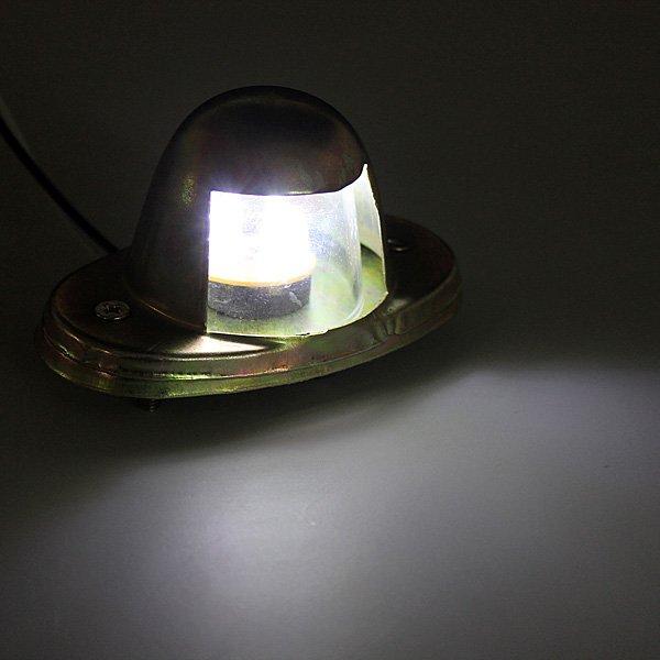 Trailer Truck Car 6 LED Number Plate License Light Lamp