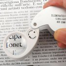 40x 25mm Jewelers Loupe Magnifier Magnifying Eye Glass