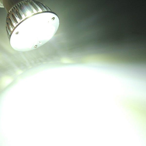 E27 6W White/Warm White 3LED Spot light Lamp Bulb AC85-265V