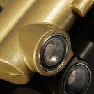 Motorcycle Bike Rear Brake Master Cylinder Internal Oil Pot Golden