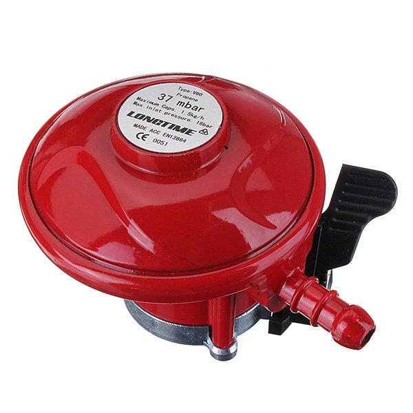 37mbar Gas Propane Regulator 27mm Fitting For Caravan Patio Heater BBQ