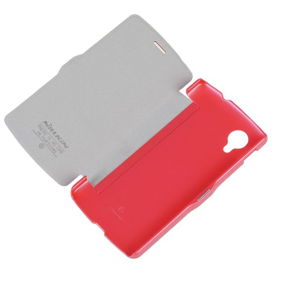 Nillkin Magnetic Flip Leather Case For LG Google Nexus 5