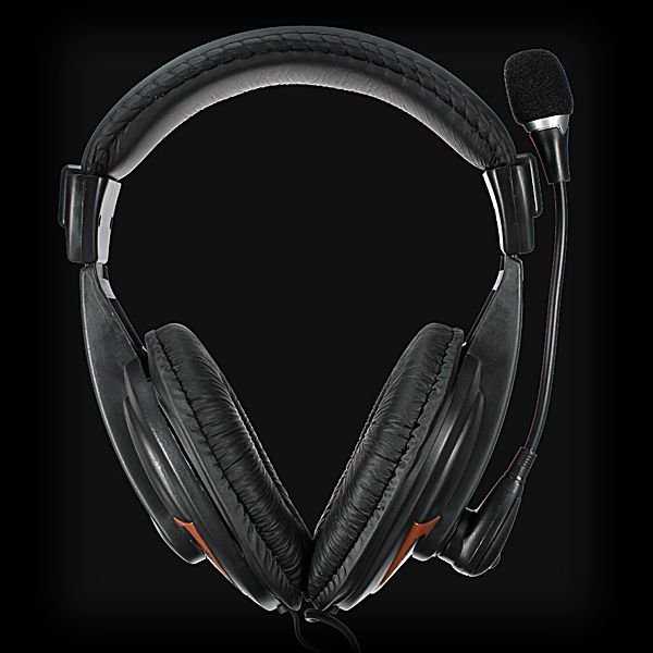 SM-750MV Comfortable Stereo Dynamic Headphone with Mic