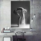 Nordic Dancing Girl Canvas Printed Paintings Home Wall Poster Decor Unframed