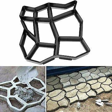 DIY Garden Path Maker Mould Stone Road Paving Cement Brick Mold