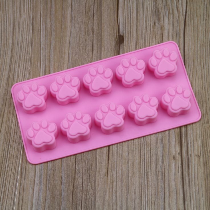 Silicone puppy claw cake Mold