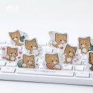 45 pc   Cute Shiba Inu Dog Label Stickers   Decorative Stickers