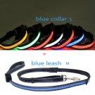 LED Dog collar and leash combination