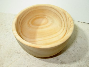 WOODEN SMALL BOWL - Unfinished Wood