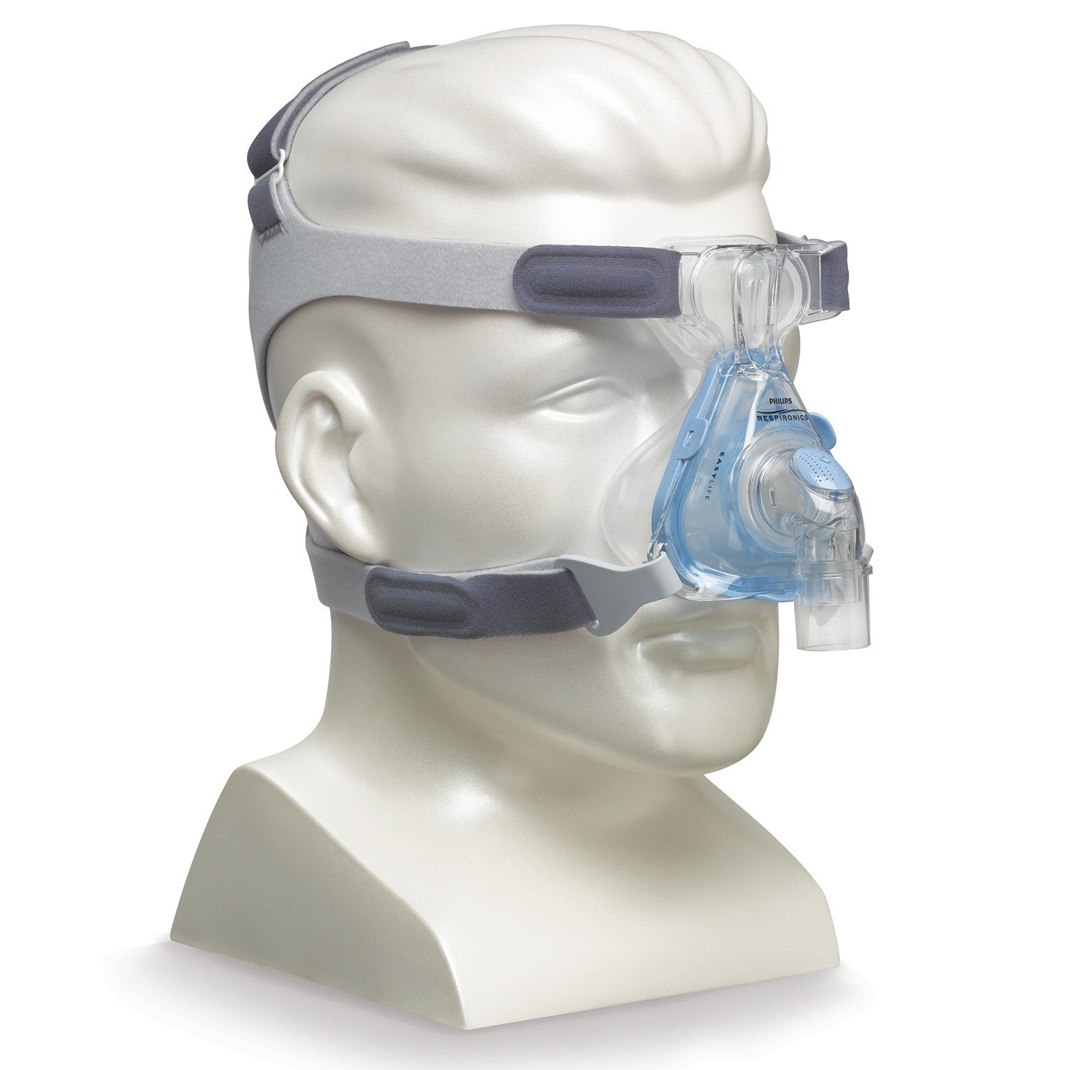 New Respironics EasyLife Nasal CPAP Mask and Headgear, Size L
