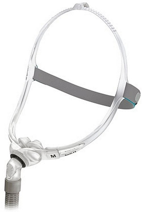 40% off - New Swift FX Nasal Pillow CPAP Mask with Headgear by ResMed, size S, M, L in one pack