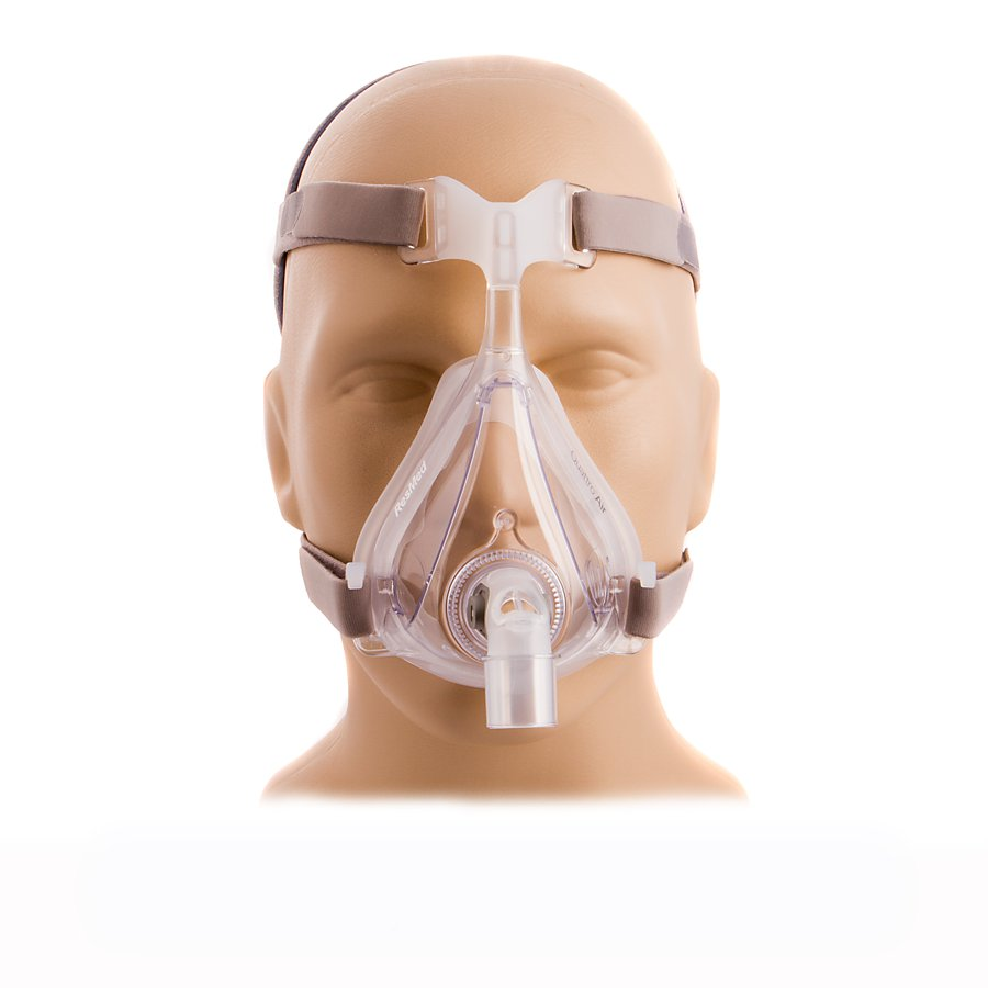 40% off -- ResMed Quattro Air Full Face Mask with Headgear, Size S