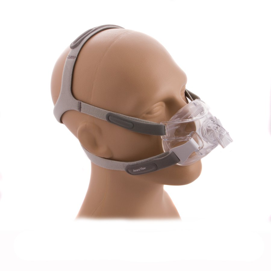 40% off -- NEW Amara View Full Face CPAP Mask with Headgear, size L