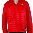 NWT Mens TNF The North Face Thermoball ECO Insulated FZ Puffer Jacket - Red