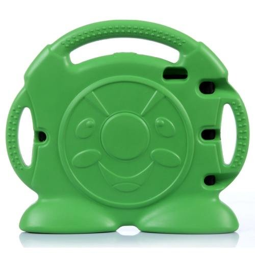 For iPad Air 2 / iPad 6 Green Anpanman EVA Bumper Portable Protective Case with Handle & Holder
