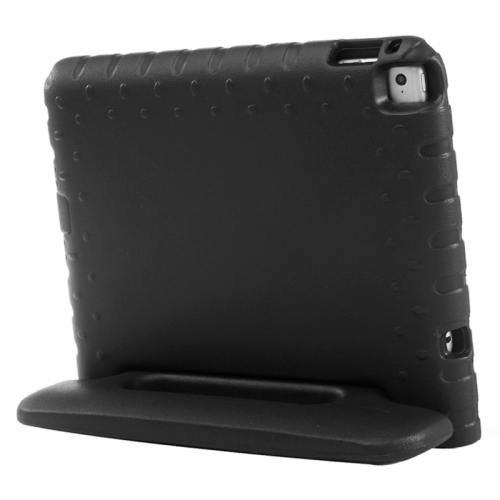 For iPad Air 2 / iPad 6 Black EVA Bumper Protective Case with Handle & Holder