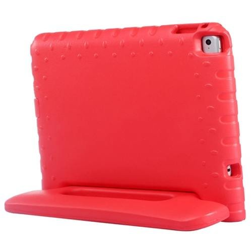 For iPad Air 2 / iPad 6 Red EVA Bumper Protective Case with Handle & Holder
