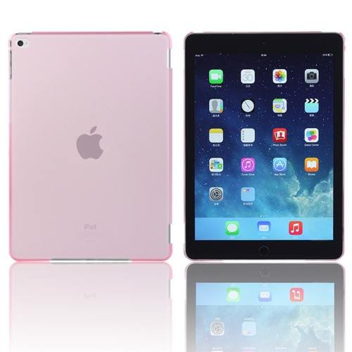 For iPad Air 2 / iPad 6 Pink Plastic Hard Protective Case