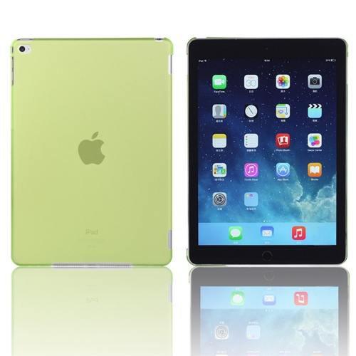 For iPad Air 2 / iPad 6 Green Plastic Hard Protective Case