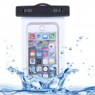For iPhone 6 Plus White Waterproof Carrying Case with Touch Responsive Front & Lanyard