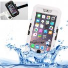 iPhone 6 Plus White IPX8 Waterproof Touch Sensitive Screen Case with Bike Holder & Lanyard