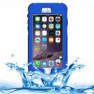 iPhone 6 Plus Dark Blue Waterproof Protective Case with Button, Fingerprint Unlock & Touch Screen
